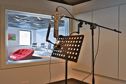 Recording studio | Talents Room