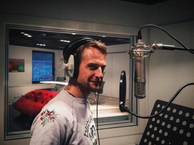 Slávek Horák in Talents Room studio