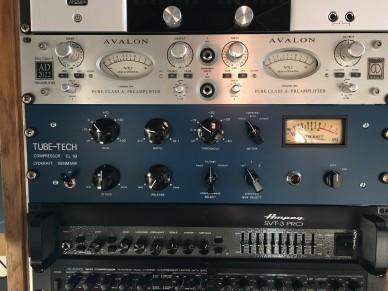 studio rack in Talents Room